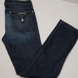 Hudson Straight Leg Flap Pocket Jean